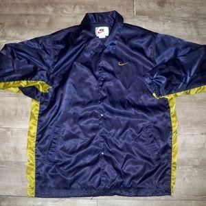 Vtg Nike Spellout Men's Windbreaker Jacket Size XL